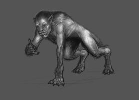 Werewolf tranformation by liminalbean