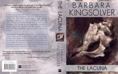 Barbara Kingsolver Book Jacket: The Lacuna by ALFitz
