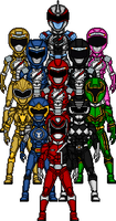 Power Rangers Once A Ranger Team-Up Reboot by Joker960317