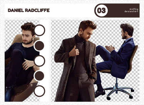 Pack png 4 // Daniel Radcliffe by mxlfoy