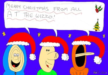 Merry Christmas from the Wizzo by Jsb97