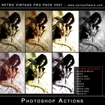 Retro Vintage Pro Pack v001 by andreat1508