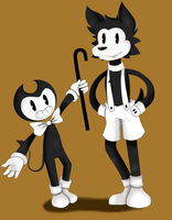~* (COLLAB) Bendy and the Ink Machine *~ by StarlightDawn1216