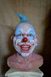 Creepy Clown Sculpture Finished by asconch