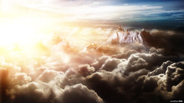 Above the Clouds by JonathanEdis