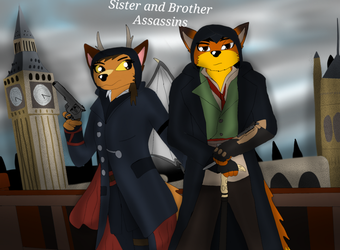 Sister and Brother Assassins by ZachMFKAttack