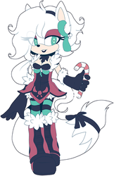 [CLOSED] Christmas Adoptable by Fivey