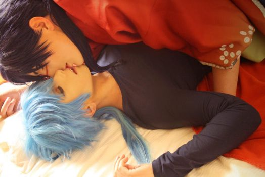 Dramatical Murder - Koujaku and Aoba 4 by Etienne-Magique