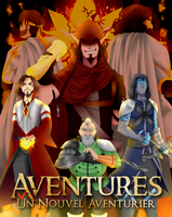 Aventures Comic - Un Nouvel Aventurier (Cover) by Minouze