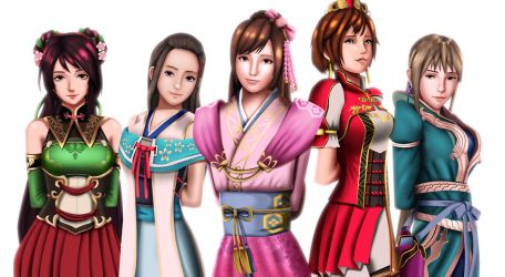 .: Koei Beauties :. by Sincity2100