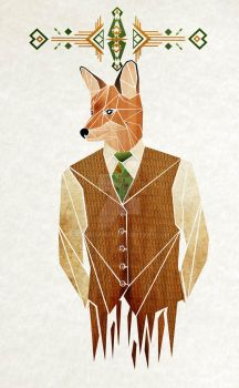 mister fox by MaNoU56