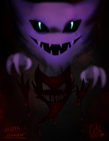 #093- Haunter by UxieSweetie