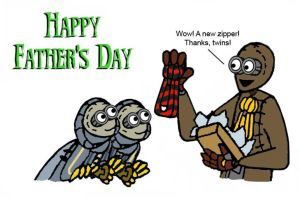 Stitchpunk Father's Day by KRRouse