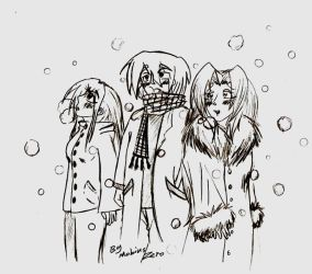 Snowing before Christmas by MobiusZero