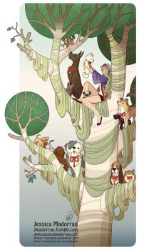 Tree Lady - Year of the Dog by MeoMai