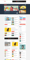 Logger Flat Magazine Template by begha