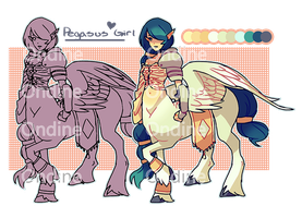 Pegasus Girl Adopt [Closed] by LilyOndine