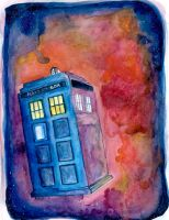 TARDIS Time Vortex by aunjuli
