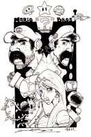 Mario_Brothers by G-Chris