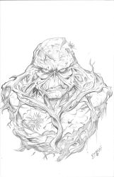 Swampthing by kidjersey