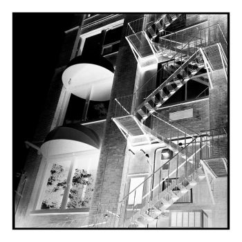 2018-172 Fire escape (negative) by pearwood