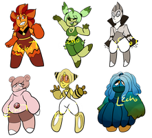 Pokemon Themed Fangem Chibi Adoptables ((CLOSED))