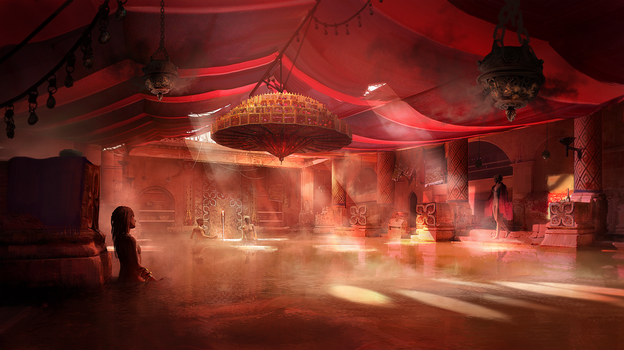 Scarlet Chamber by fmacmanus