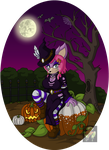 Halloween themed - Jana by BlueStylz