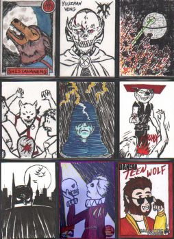 Sketch Cards Page 4 - Star Wars by Andy-Korty
