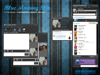 Yahoo Messenger - Blue Morning by FreakDr