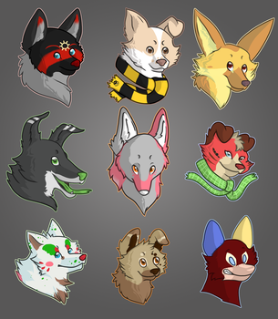 FP Art Fight '13 :: Attacks 14 - 22 by ItsANonSequitur