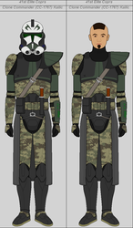 Clone Commander (CC-1767) Kailic by Suddenlyjam