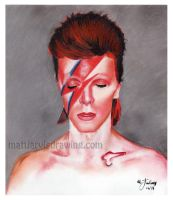David Bowie by lloveandsqualor