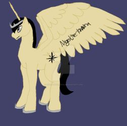 Morning Star OC - Origional form (first concept) by NigeltheTaniwha