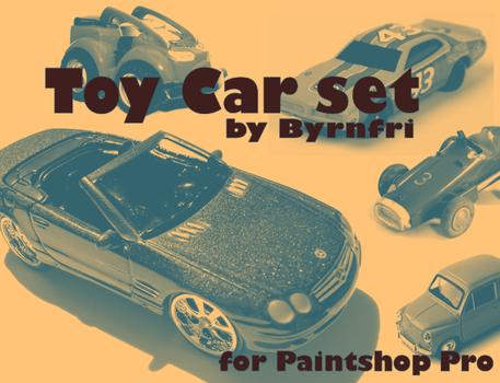 Toy Cars set of 11 by byrnfri-resources