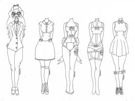 Milly~ (Outfit Designs) by Lovepiko