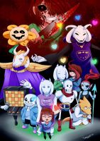 Undertale by Thanysa