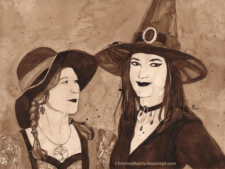 The Witches by ChristinaMandy