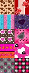 Hearts Pattern Set 3 by kvaughnp3
