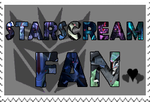 Starscream fan-made stamp by Playstation-Jedi