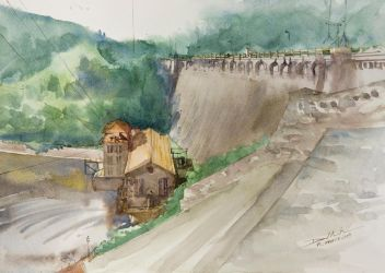 The Dam in Pilchowice by NiceMinD