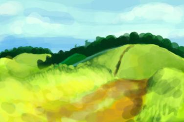 Hill study by snowsoulls