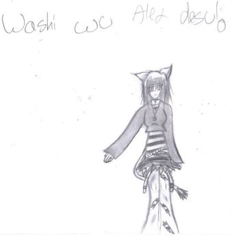washi wu alex desu by The-Lady-Nikki