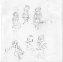 Final Fantasy Crystal Chronicals Sketch by Progamuffin