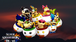 Super Smash Bros. Wii U / 3DS - Bowser Jr. by Legend-tony980
