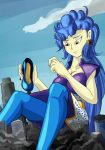 Giantess Draw - Sapphire Shores by Colonel-Gabbo