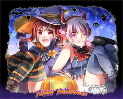 Happy Halloween by trudyfish