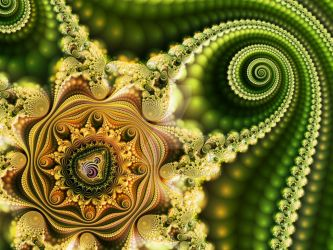 Mandelbrot 38 - Cycle of rebirth - by Olbaid-ST