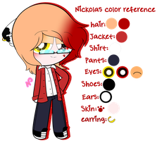 ~Nickolas Color Reference by Nini-the-inkling