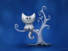 A Cheshire Kitten - Christmas by vladstudio